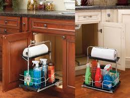 Kitchen Sink Caddy by Under Counter Storage Cabinets Under Kitchen Sink Caddy Kitchen