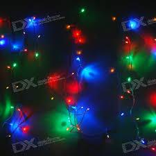 blue led christmas string lights rgb 100 led christmas decoration string lights 10 meter 110v ac