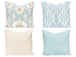 Blue And Gold Throw Pillows Denim Royal Decorative Teal Couch Grey