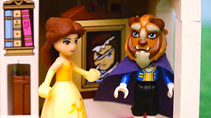 beauty and the beast lego toys u0026 dolls for kids belle goes in