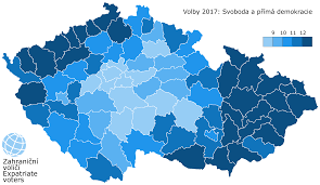 2016 Electoral Map Prediction Youtube by Czech Legislative Election 2017 Wikipedia