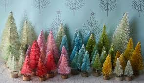 tiny bottle brush trees i came home from my paper mache we u2026 flickr
