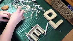 quick diy marquee letter lights theseglitteryhands youtube
