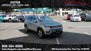 jeep compass latitude 2018 interior new 2018 jeep compass latitude sport utility in pearl city pj3531