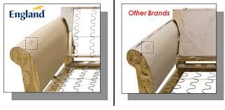 How To Build A Sofa Frame What U0027s Inside England Furniture What U0027s Inside