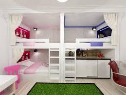 Bunk Beds For Three 30 Three Children Bedroom Design Ideas