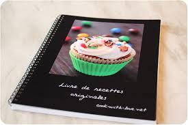 idee recette cuisine idée créer livre de recettes personnalisé