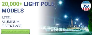 used aluminum light pole for sale commercial grade light poles light fixtures lightpolesplus com