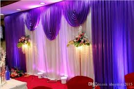 Marriage Decoration 3 6m Wedding Swags Drapes Party Background Party Celebration