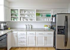 open cabinets in kitchen 15 ways to update your kitchen on a dime wood cutting boards