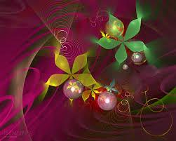 wallpaper bunga lingkaran wallpaper sinar matahari ilustrasi bunga bunga merah cabang