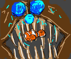 abyss scene finding nemo angler fish drawing caecitas