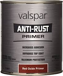 amazon com valspar 4431 23 red oxide metallic tractor and