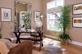 improve your home office with large mirrors
