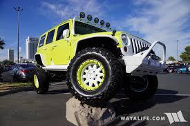 jeep green 2017 2017 sema jive jeep lime green jeep jk wrangler unlimited