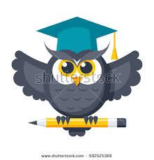 graduation owl graduation owl stock images royalty free images vectors