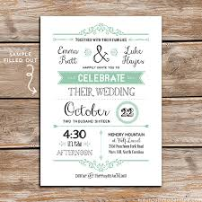 diy wedding invitations free printable wedding invitation template diy wedding