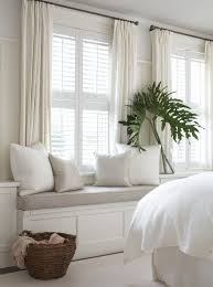 Curtains In The Bedroom 25 Best Plantation Shutters With Curtains Images On