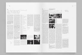 minimal editorial design plus black equals great design more