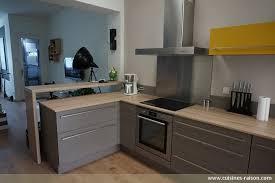 cuisine photo moderne cuisine en l cuisine en bois clair structur stilo noyer blanchi
