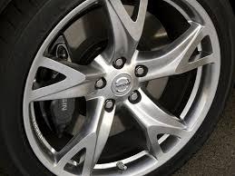 silver nissan nissan infiniti nissan oem 370z front wheel rim hyper silver