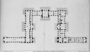 chateau floor plans this is versailles château de clagny