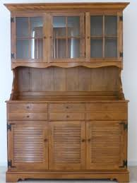 Ethan Allen Corner Cabinet by Ethan Allen Hutch Early American Solid Maple And Birch Excellent