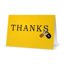 safety thank you cards thanks loto set of 10 safety celebration