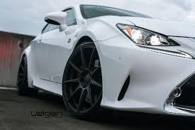 lexus rc 350 lexus rc 350 f sport velgen wheels