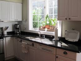 Kitchen Window Shelf Ideas Decorating Interesting Beige Ikea Window Treatments With Ladder Shelf