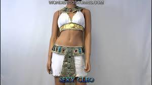 cleopatra costume youtube