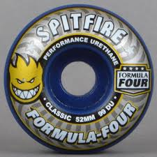 formula 4 spitfire spitfire wheels classics midnight run 99d formula four skateboard