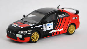 mitsubishi rally car team advan mitsubishi lancer evolution x cz4a rally car diecast
