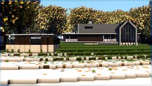 Barnhouse by Minecraft Modern Barn House Minecraft Things Pinterest