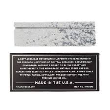 hook knife sharpening stone boston general store