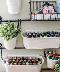 Organize A Craft Room - 40 ideas to organize your craft room in the best way digsdigs