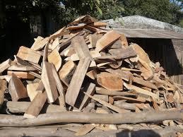 scrap wood of scrap