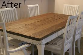 Plank Dining Room Table How To Refinish Cherry Dining Room Table Decor Provisions Dining