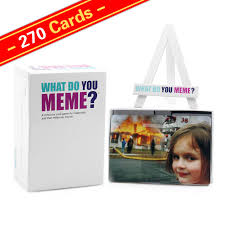 Meme Card Game - wholesale 270 cards what do you meme adult party game