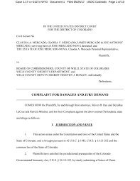 Civil Action Cover Sheet by Sheriff Lawsuit By The Greeley Publishing Company Issuu