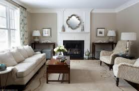 Living Room Corner Table Living Room Wall Mirror Above Fireplace Mantel For Transitional