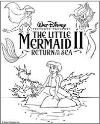 mermaid fun games book disney coloring