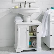 Sink Storage Bathroom Weatherby Bathroom Pedestal Sink Storage Cabinet Improvements