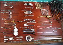 hair clip types types of rings blings things