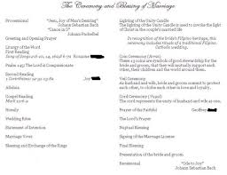 catholic wedding blessing wedding ceremony without mass