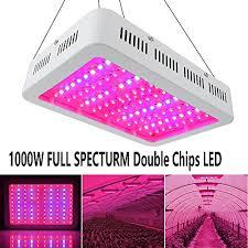 Full Spectrum Led Grow Lights 1000watt Led Grow Light Double Chips Full Spectrum Enereco Super