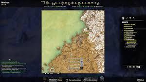World Treasure Map by Orsinium Treasure Map Iv Elder Scrolls Online Wiki