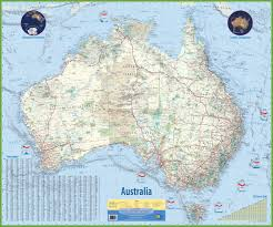 australia map of cities australia maps map of australia