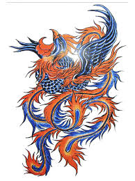 phoenix bird tattoo flash designs top quality high resolution