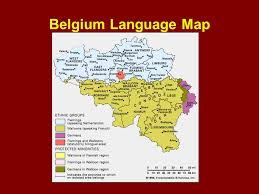 belgium language map chapter 5 ch a 5 language ppt